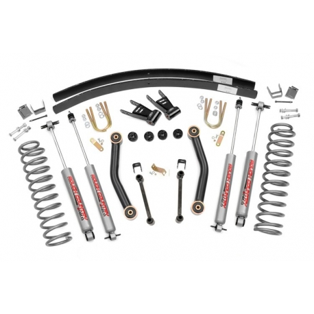 "4,5"" Rough Country Lift Kit Basic zawieszenie - Jeep Cherokee XJ"
