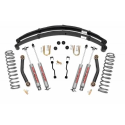 "4,5"" Rough Country Lift Kit zawieszenie - Jeep Cherokee XJ"