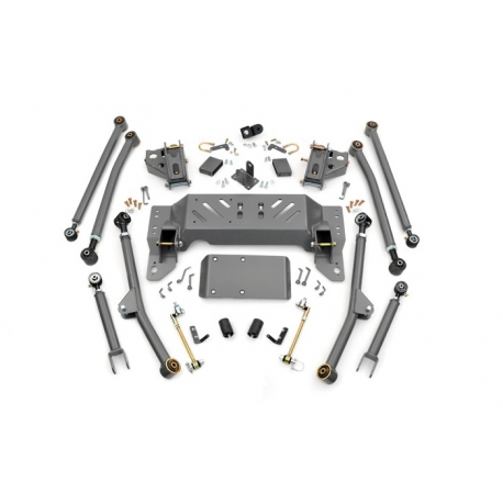 "4"" Long Arm Rough Country Upgrade Lift Kit - Jeep Grand Cherokee ZJ"