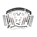 "4,5"" Rough Country Lift Kit Pro Susupension - Jeep Cherokee XJ"