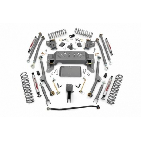 "4"" Long Arm Rough Country Lift Kit zawieszenie - Jeep Cherokee ZJ"