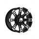 "Felga aluminiowa 9x18"" 5x127 ET 0 - ProComp Model 7113 Metal Mulisha Flat Black - Jeep Grand Cherokee WJ"