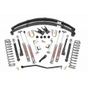 "6,5"" Rough Country Lift Kit Suspension - Jeep Cherokee XJ"