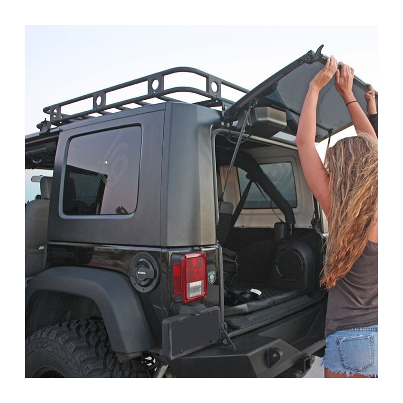 jku came jeep gobi roof page forum finally wrangler rack