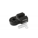 Flat Link with Titanium Pin & Rubber Guard (Black)
