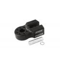 Flat Link with Titanium Pin & Rubber Guard (Black)