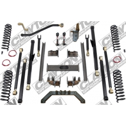 "7"" CLAYTON OFF ROAD Long Arm Lift Kit zawieszenie - Jeep Grand Cherokee ZJ"