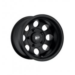 """Felga aluminiowa 8x16"""" 5x114,3 ET -12 - ProComp Model 7069 Flat Black - Jeep Cherokee XJ"""