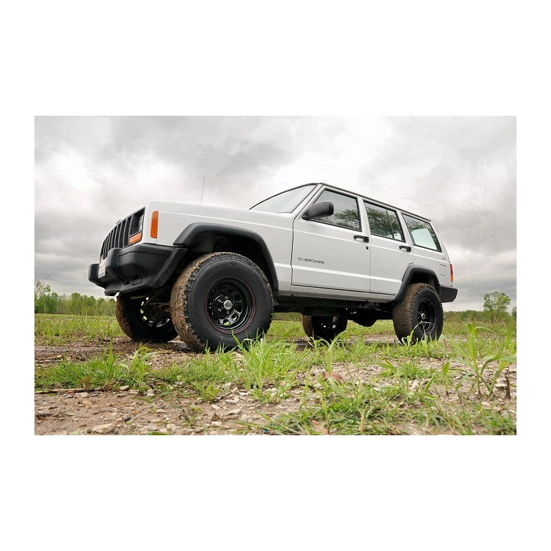 3 rough country lift kit suspension jeep cherokee xj. Cars Review. Best American Auto & Cars Review