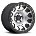 "Alloy Wheel 9x17"" 5x127 ET-38 Beadlock Machined 105 Method - Jeep Wrangler JK"