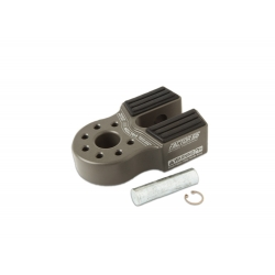 Flat Link with Titanium Pin & Rubber Guard (Grey)
