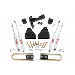 "3"" Rough Country Lift Kit - Ford F350 4WD 08-10"
