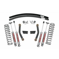 "3"" Rough Country Lift Kit Pro Suspension - Jeep Cherokee XJ"