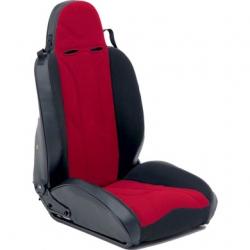 Fotel przedni Kierowcy XRC Racing Style Czerwono-Czarny Smittybilt - Jeep Wrangler JK