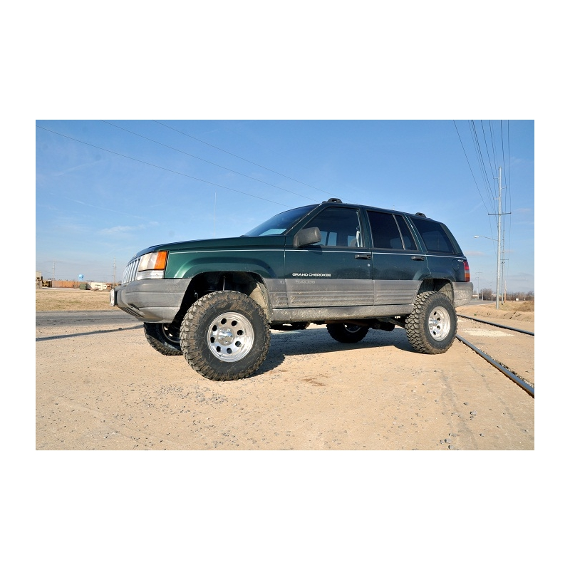 Jeep Grand Cherokee Lift Kit >> 3 5 Rough Country Nitro Lift Kit Suspension Jeep Grand Cherokee Zj