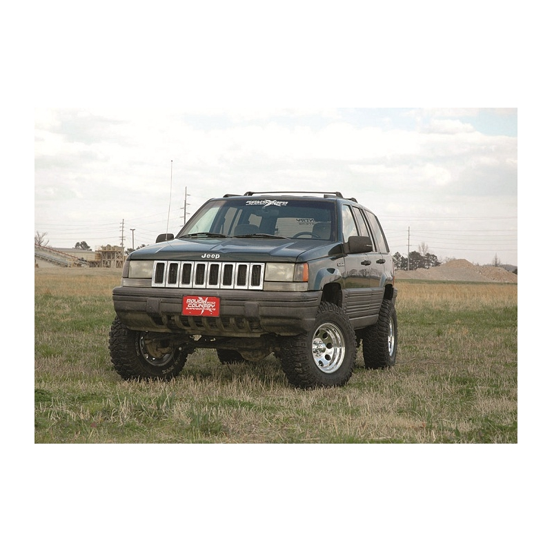 Jeep Grand Cherokee Lift Kit >> 4 Rough Country Nitro Lift Kit Suspension Jeep Grand Cherokee Zj
